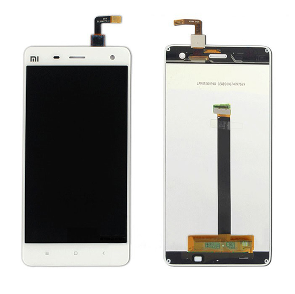 LCD Display + Touch Screen Replacement For xiaomi 4 m4 mi4 1920*1080 Smart Mobile Phone Free Shipping White Black