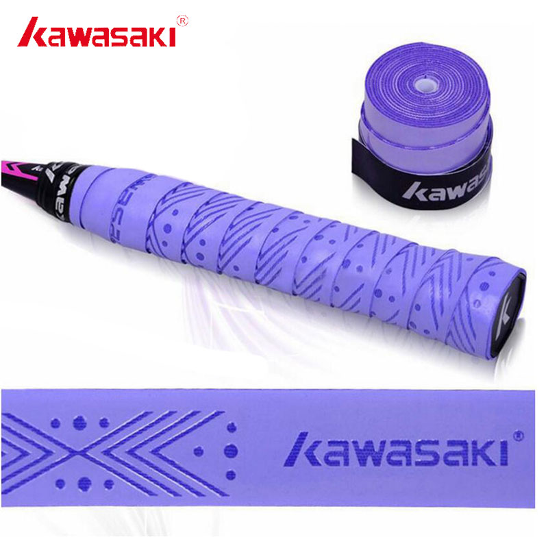 5 шт./лот Kawasaki бренд Overgrip Теннис ракетки Sweatbands анти-slip дышащие пот полосы Бадминтон сцепление Клейкие ленты X5