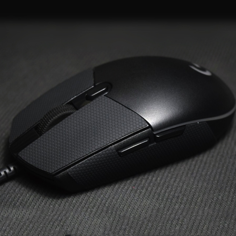 2019 New Muis Antislip tape Elastieken Verfijnd Side Grips Zweet slip pads/anti zweet plakken/muis voeten  For Logitech G102(China)