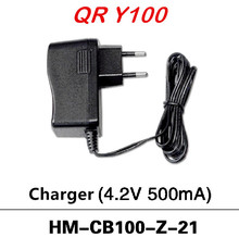 Original Charger (4.2V 500mA) HM-CB100-Z-21 for Walkera QR Y100 RC Quadcopter Free Shipping