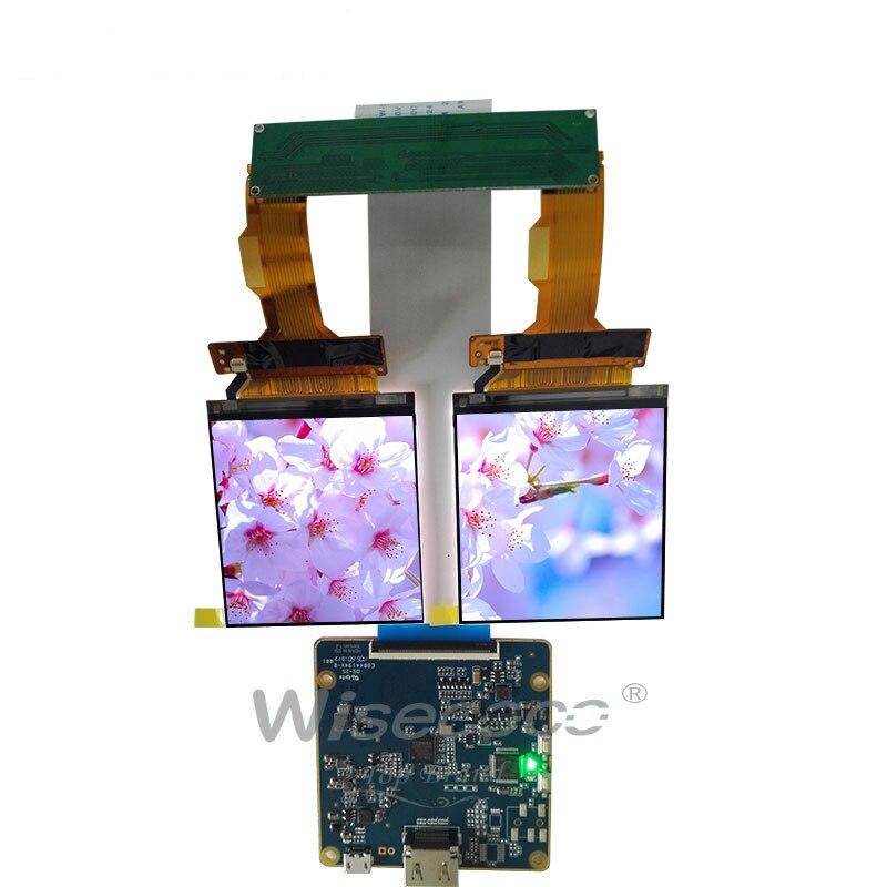 HDMI à MIPI conseil 2 K LCD 2.9 pouces 1440*1440 affichage 2 K LCM écran durale 40 broches pour application casque VR AR