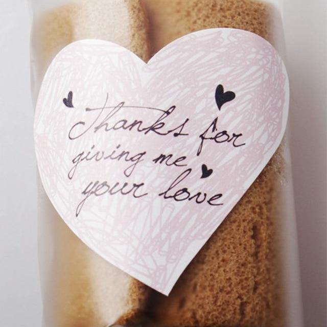 New Thanks Wedding Invitation Card Sealing Sticker Party Gift Labels Etiquetas Adhesivas S De Papel Paper