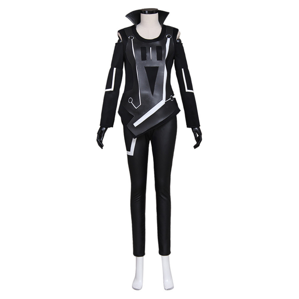 Tron Legacy Quorra Adult Women's Jumpsuit Cosplay Costume Halloween Carnival Costume Custom Made disguise inc tron legacy identity disk