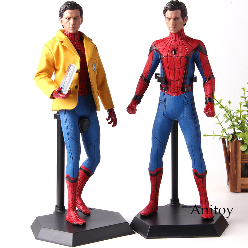 Marvel Spider-Man Spiderman Homecoming Action Figure Crazy Toys 1/6 Scale Collectible Figure PVC Collection Model Toys