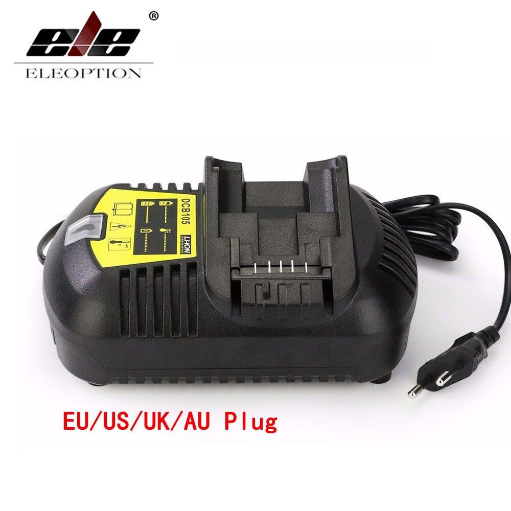 10.8 В-20 В Батарея быстро Зарядное устройство DCB105 для <font><b>Dewalt</b></font> Зарядное устройство литий-ионный Батарея 10.8 В DCB101 DCB120/DCB203 /DCB200/
