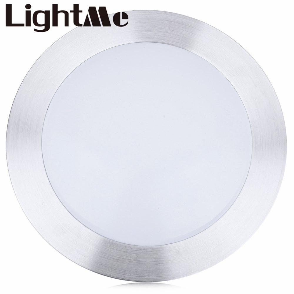 Beliebte Kichen Silber Weisse Deckenleuchten Runde Einzigen Seite 18 Watt Led Deckenleuchte Wohnzimmer Lampe Dekoration