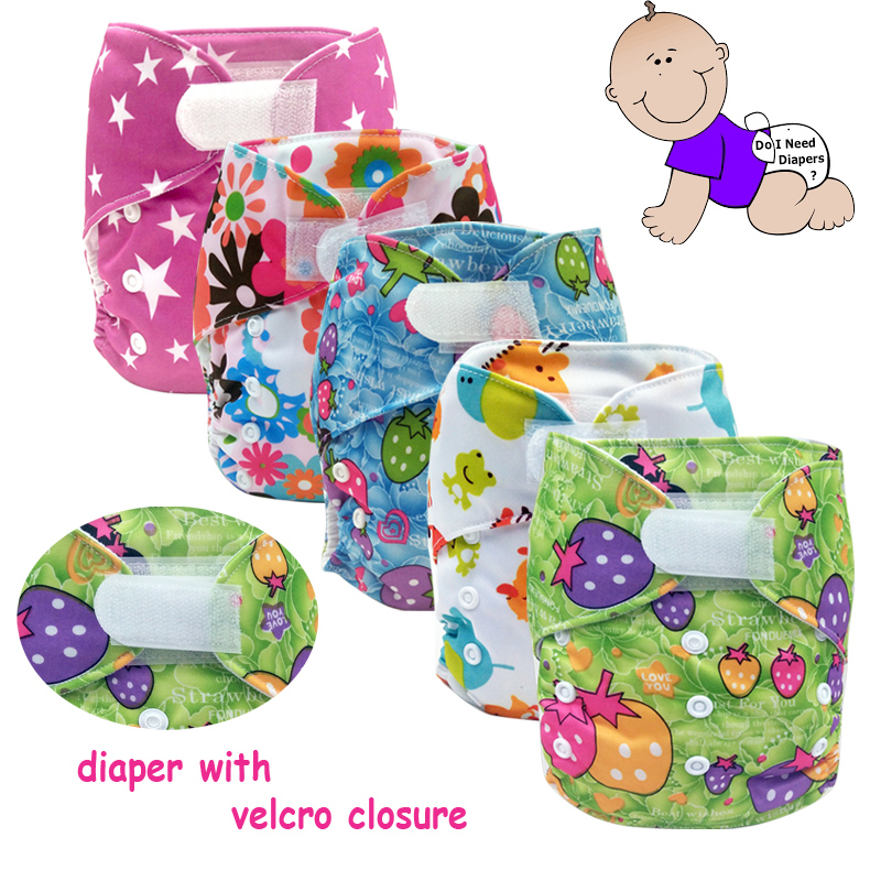 waterproof TPU coating breathable baby cloth diaper nappies with hook and loop, suede cloth PUL print reusable diapers wholesale