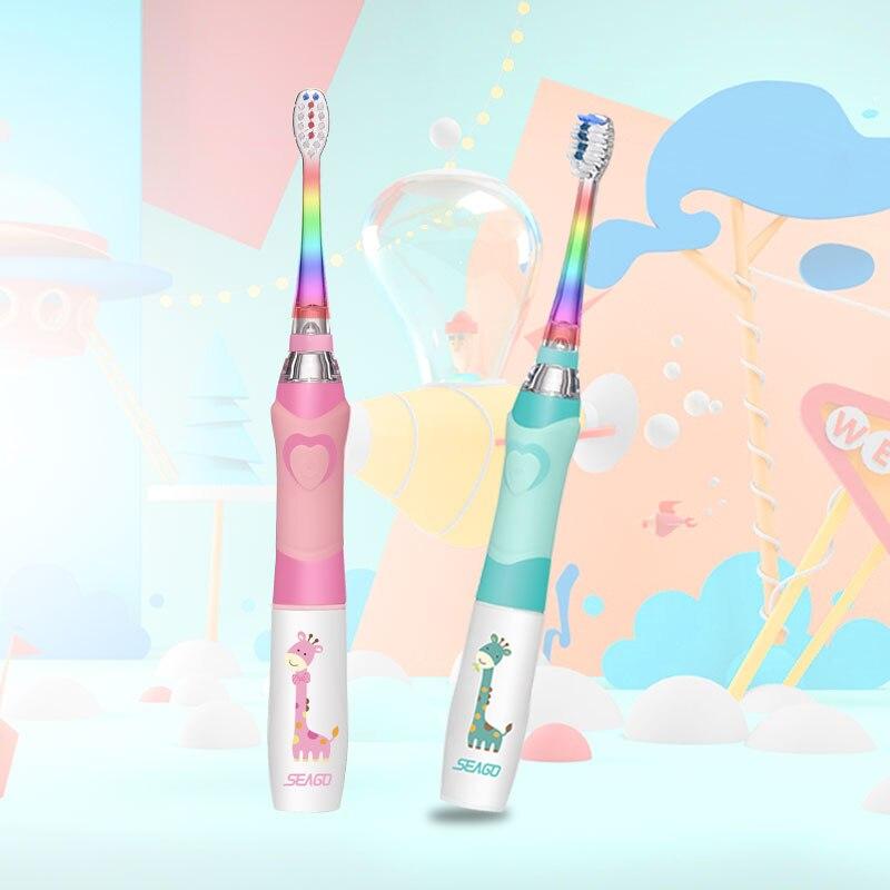 Furça furçë dhëmbësh SEAGO për Fëmijët Dhëmbët e Baterive - Kujdesi personal - Foto 3