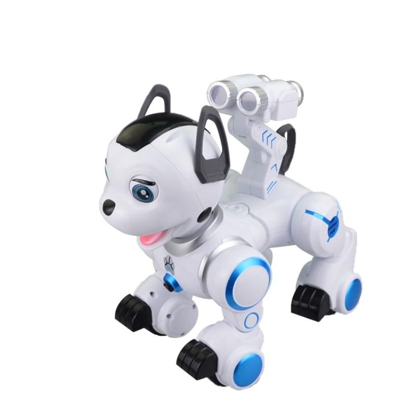 2018 niños para RC inteligente programación perro K10 caminando música electrónica máquina de Control remoto perro de juguete - 3