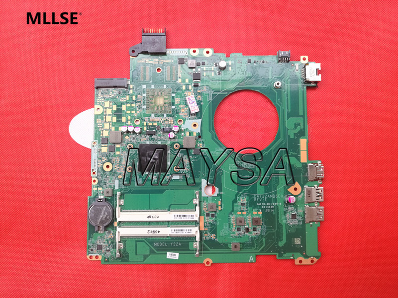 762526-501 762526-001 Main Board Fit For HP Pavilion 15-P Series Laptop Motherboard DDR3 AM8 CPU Full tested 815248 501 main board for hp 15 ac 15 ac505tu sr29h laptop motherboard abq52 la c811p uma celeron n3050 cpu 1 6 ghz ddr3