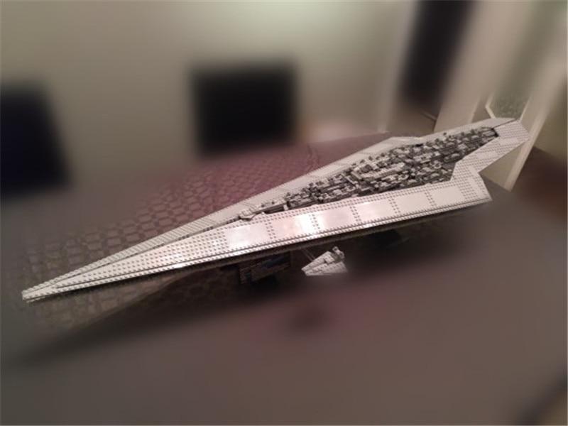 3208pcs STAR Genuine WARS Building Blocks Toy Super Star Destroyer Model Block Brick Compatible Lepins Birthday Christmas Gifts