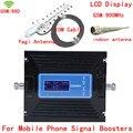 Novo Display LCD + 13dbi yagi! Controle de ganho GSM 900 mhz Reforço de Sinal, sinal de telefone celular impulsionador GSM980, GSM repetidor de sinal de Celular