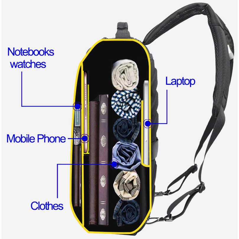 BOPAI, рюкзак для ноутбука с защитой от кражи, USB, внешняя зарядка, 16 дюймов, многофункциональный рюкзак, сумка для путешествий, Мужская школьная сумка для подростков