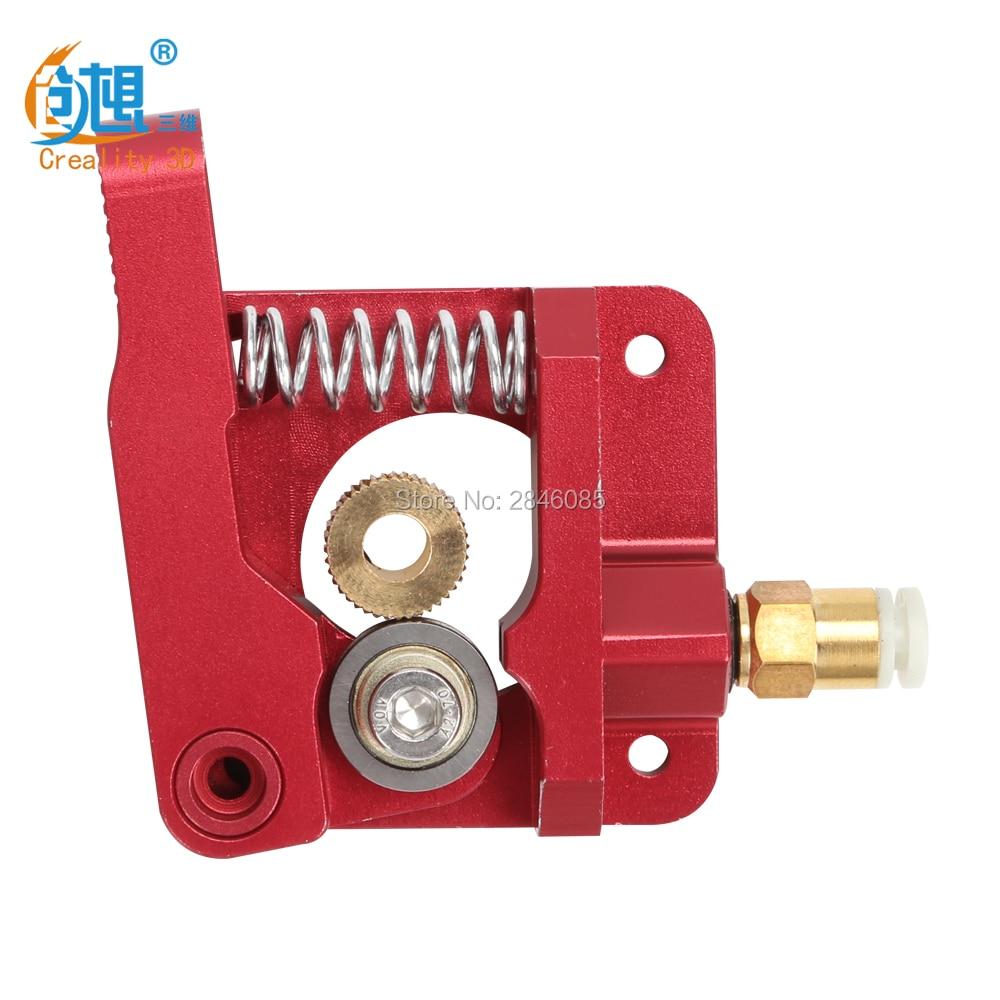 Mise à niveau 3D Imprimante Pièces MK8 Extrudeuse Bloc En Alliage D'aluminium bowden extrudeuse 1.75mm Filament pour creality 3d CR-7 CR-8 CR-10