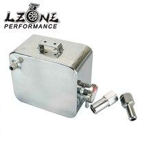 Lzone-2L литр полированная сплав заголовок расширительный бак для воды и Кепки воды бака заголовка Хладагент переполнения бака резервуара комплект JR-TK24