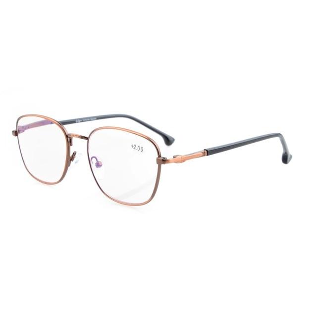 Eyekepper Retro molla Cerniere Occhiali degli occhiali Anti Silver D0gaH51