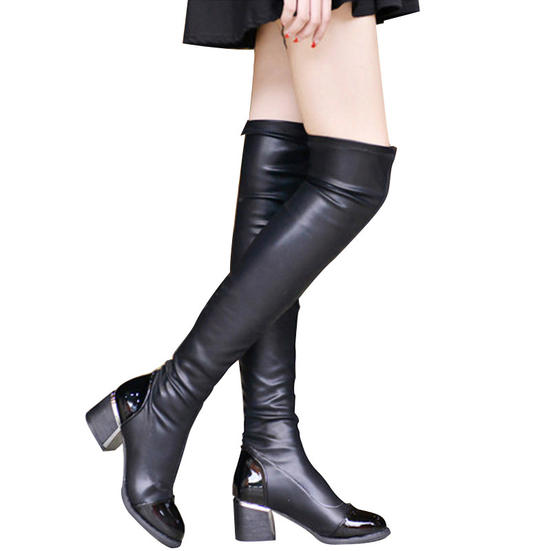 Popular Long Black Boots for Sale-Buy Cheap Long Black Boots for ...