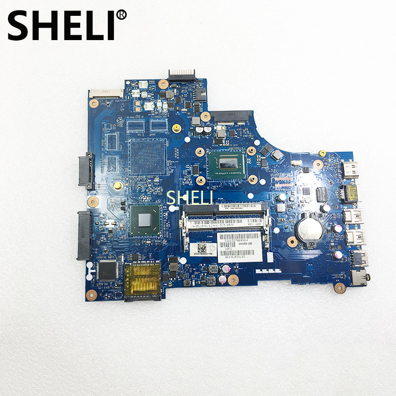 SHELI FOR DELL GY07W 0GY07W LA-9104P Inspiron 15 3521 Laptop Motherboard With Heatsink 1017U DDR3 Tested