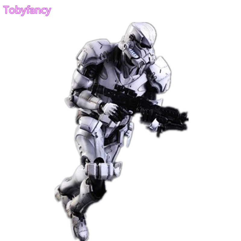 Star Wars Play Arts Kai Imperial Stormtrooper Action Figure Toy Collection Model Anime Movie Star Wars Stormtrooper Playarts Kai
