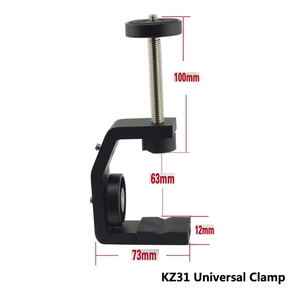 Image 3 - FFYY Multifunctional Aluminum Clip UNC1/4 Inch Screw Universal C Stand Clamp For Camera Tripod Flash Holder Bracket