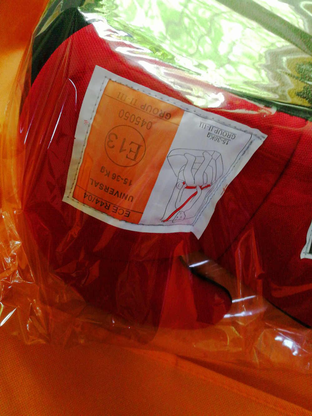 Многофункциональное детское безопасное детское сидение, уплотненная Подушка на сиденье для детей и детей в автомобиле, От 3 до 12 лет, портативное детское автокресло для путешествий