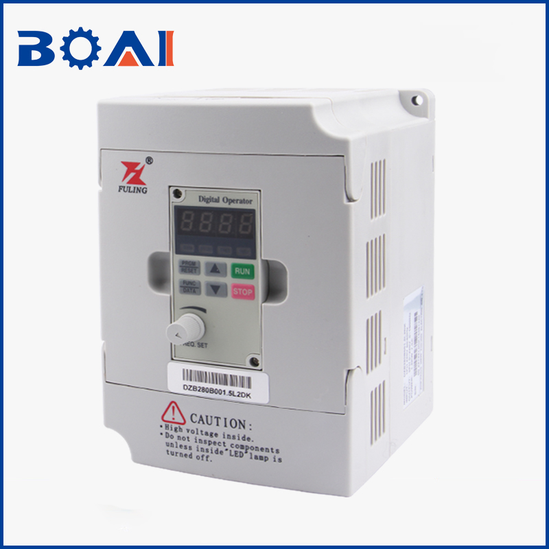 1.5KW/2.2KW Fuling Inverter VFD Cnc Router Parts 1HP Or 3HP Input 3HP 1.5kw&2.2kw&3.7kw&5.5kw&7.5kw