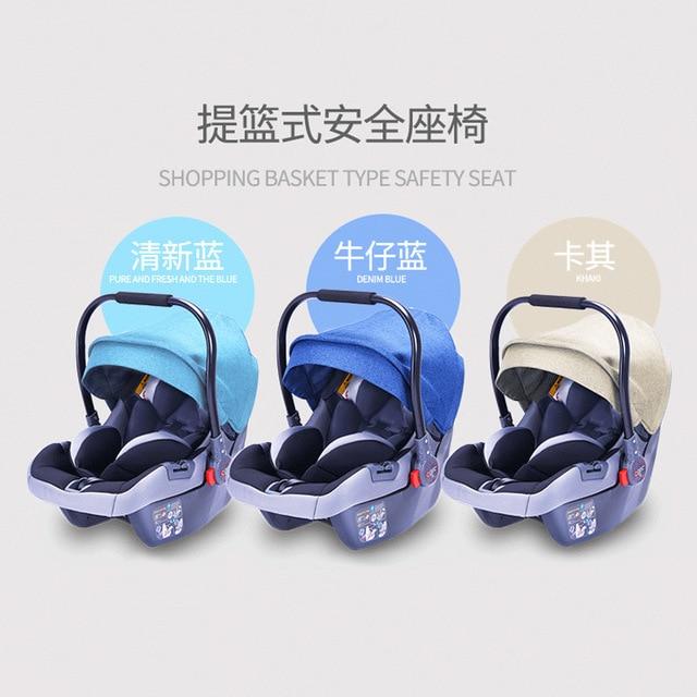 Baby Stroller 3 In 1 High Landscape Baby Stroller Newborn Baby Car Seat Cradle Baby Carriage Travel System Car Seat Stroller 3