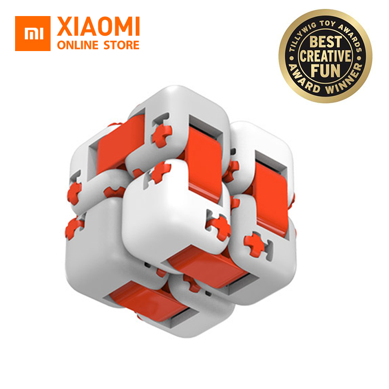 Global Version Xiaomi Mitu Cube Spinner Finger Bricks Intelligence Toys Smart Finger Portable For Xiaomi Smart Home Gift For Kid