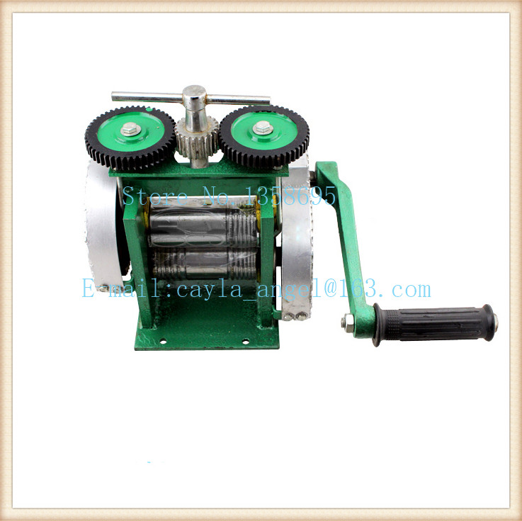 2015 the best rolling mill,mini gold Rolling Mill , jewelry rolling mill with Maximum opening 0-5 mm the mill girl