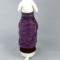 כלב בגדי משלוח חינם מעיל עור/מעיל סתיו חורף חיות מחמד מוצר זול סיטונאי בגדי כלבים חמים XS-XL