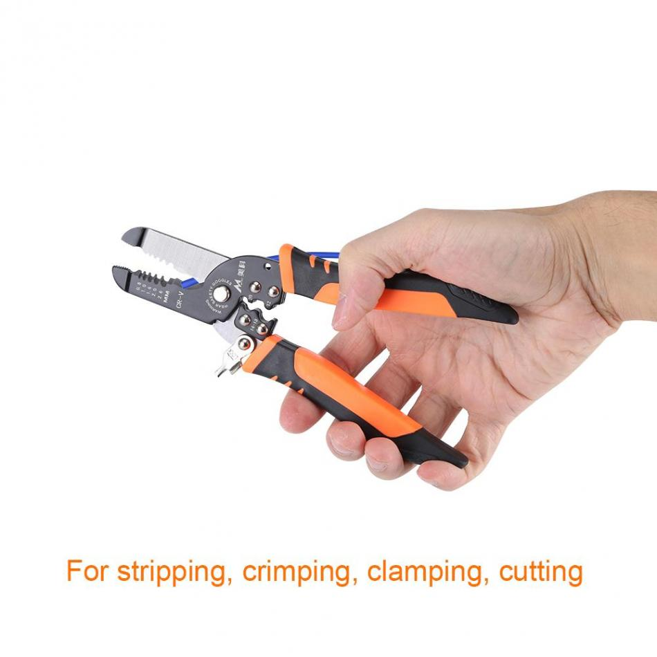 Multi functional Stripping Plier Practical Plier Electrician Wire ...