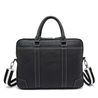 High Quality Genuine Leather Hand Made Male Bags Business Head Leather Handbag Men S Computer Bags