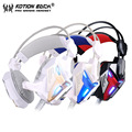 KOTION EACH G3100 3.5mm Gaming Headset Wired headphone Games Headset with Mic Stereo Bass LED Light for PC Gamer