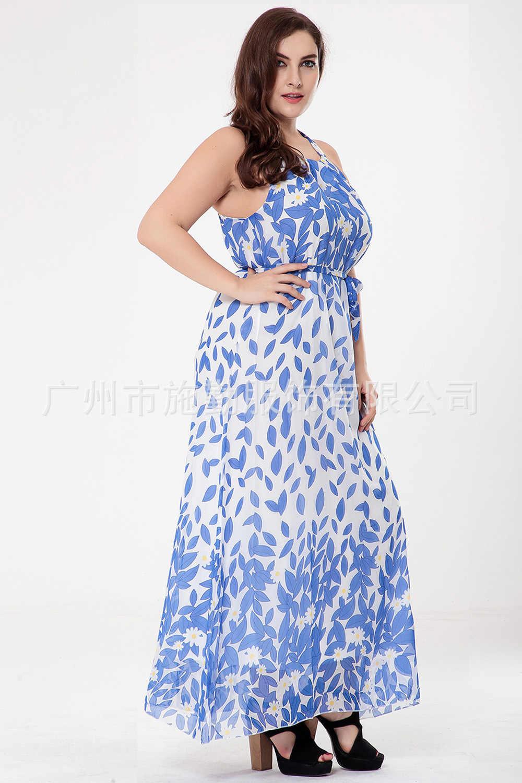55282f9f09d95 Women Indian Saree Pakistan Women Clothing 2017 Hot New Fashion T-shirt  Size Sleeveless Chiffon Dress Of Bohemia Beach Resort