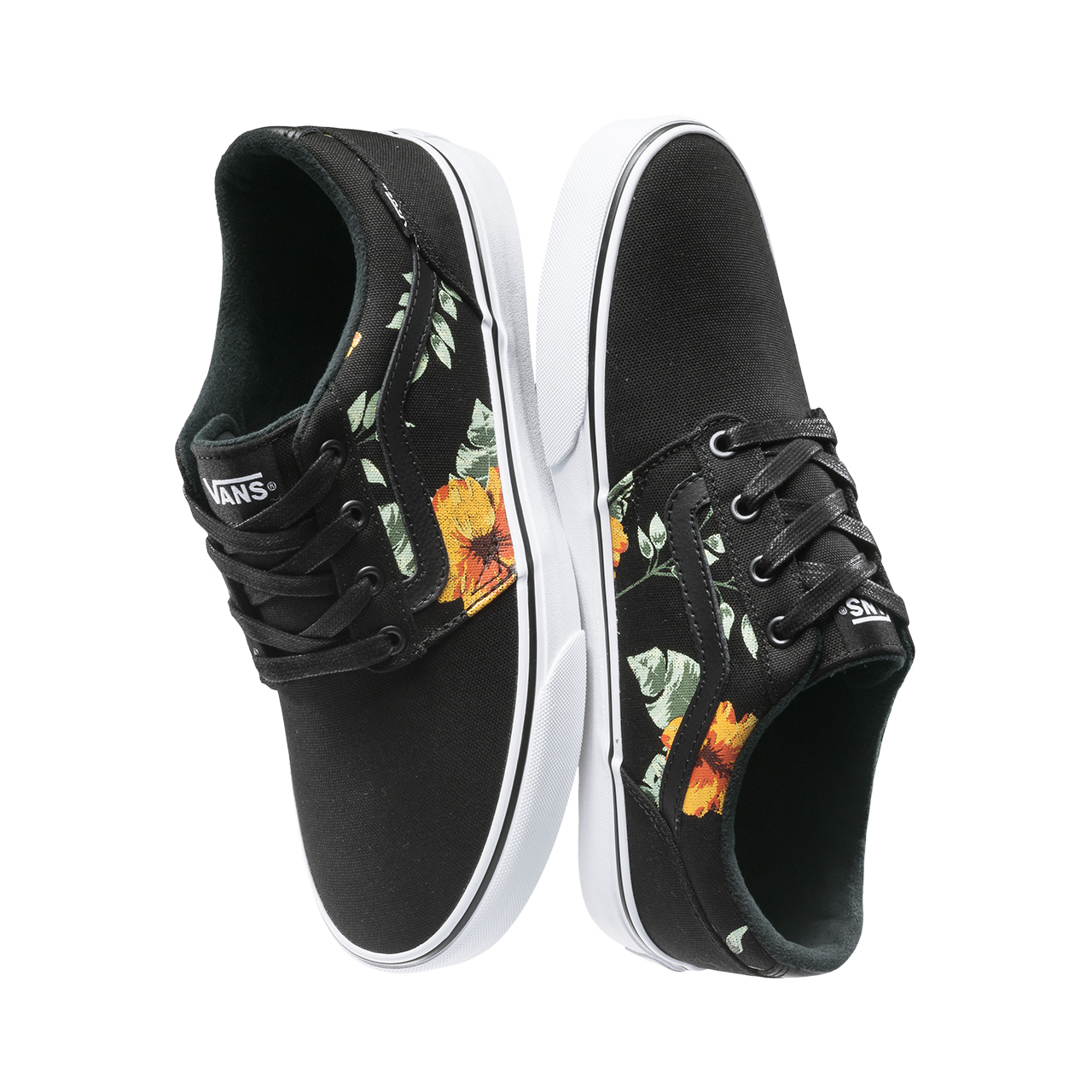 75b51308e8a2 Genuine Vans Vintage Flower Sneakers Low top Trainers Men Sports  Skateboarding Shoes Breathable Classic Canvas Vans Shoes Men-in  Skateboarding from Sports ...