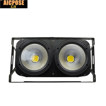2x100W High Power LED COB 2eyes Blinder Lighting Stage Lighting Effect Club Show Night DJ Disco Professional Stage Light