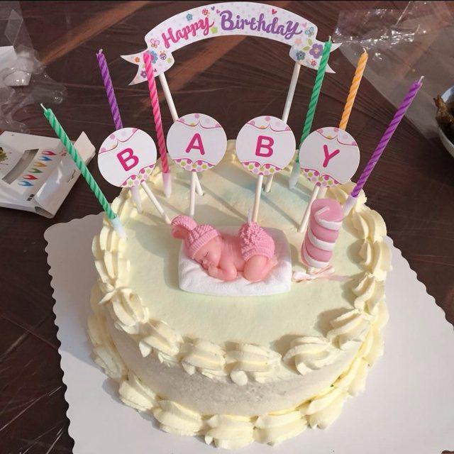 Online Shop 50pcslot Birthday Cake Topper Happy Birthday Party
