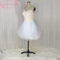Superkimjo Vestidos De 15, бисера тюль Короткие Бальные платья дешевые пикантные Коктейльные платья Класс 6 Платья для выпускного