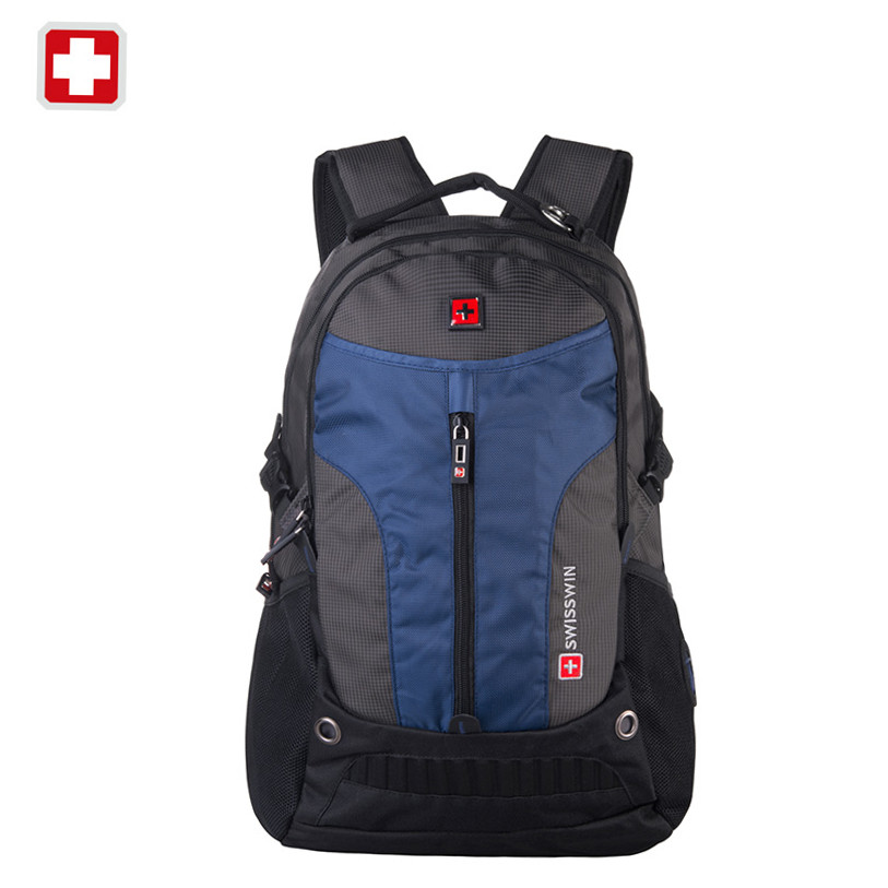 ФОТО Swisswin 2016  Big capacity Women Backpacks Men's Travel Bags for 17