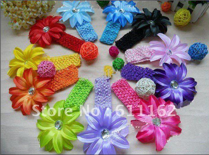 480 шт цветок лилии волосы Детские волосы украшают цветок Детские волосы девочки резинки для волос, резинки