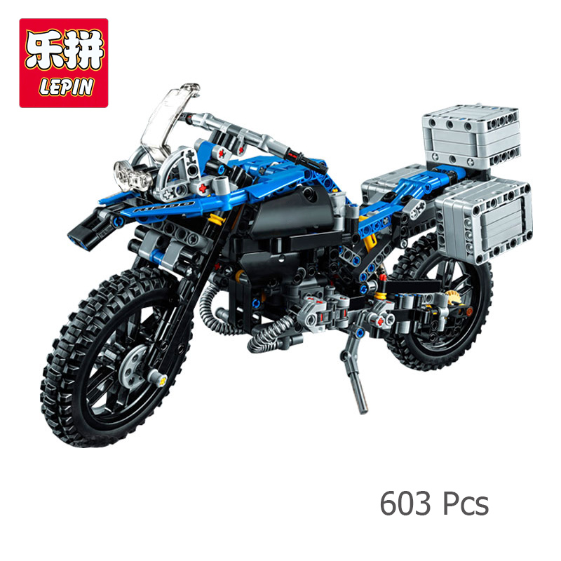 Lepin 20032 B Technic Series MW Off-road Motorcycles R 1200 GS Adventure Building Blocks Bricks Compatible with Lego 42063 конструктор lego technic приключения на bmw r 1200 gs 42063