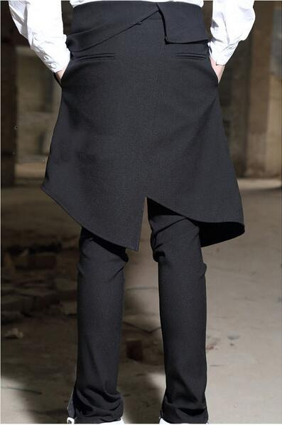Décontracté Cône Pantalon Boot 27 Trousers2018 Harem Jeans Cut Grands Chantiers Mètres Masculin Automne Culottes 44big Black Mince De Hommes Mâle v1vPwq
