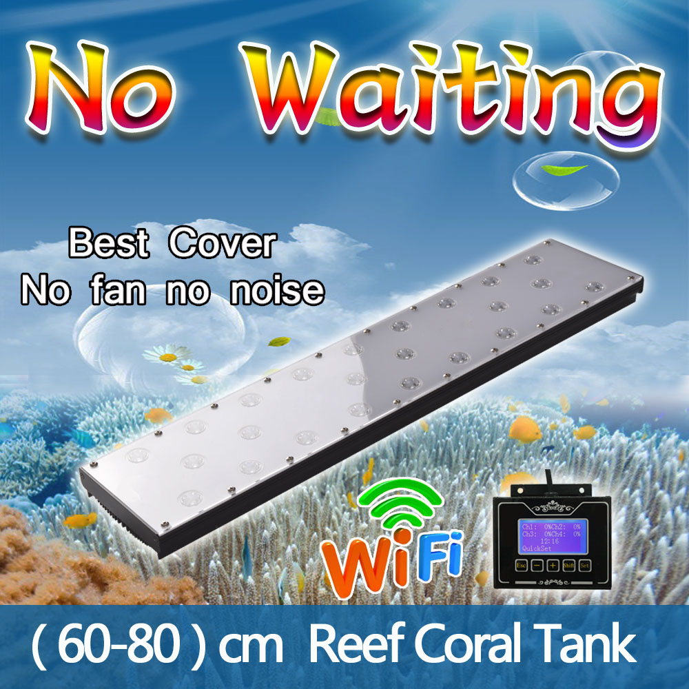 Cabinet aquarium fish tank tropical 60cm 2ft 100l - Dimmable Timer 60cm 2ft 24inch Wifi Led Aquarium Light For Marine Coral Reef Sps Lps
