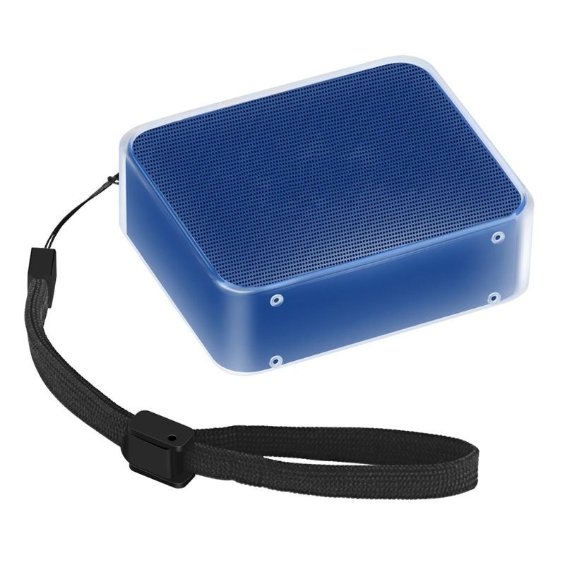 TPU Protective Skin Case Cover With Hand Strap For JBL GO 2 Bluetooth Speaker 95AD