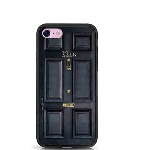 For iPhone 7 7Plus Case Classic Old Sherlock Holmes 221B Door Soft TPU Silicone Gel Cover  sc 1 st  AliExpress.com & For iPhone 7 7Plus Case Classic Old Sherlock Holmes 221B Door Soft ...