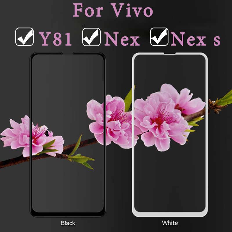 Стекло для vivo nex Защитное стекло для vivo y81 v9 nex s Защитная пленка для экрана Защитная пленка из закаленного y 81 nexs v 9 пленка для телефона