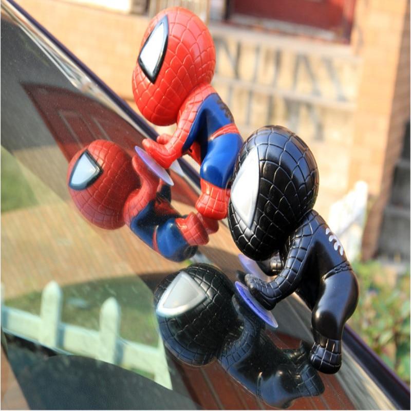 Exquisite Spider Man Toy Climbing Spiderman Window Sucker of Spider-Man Doll