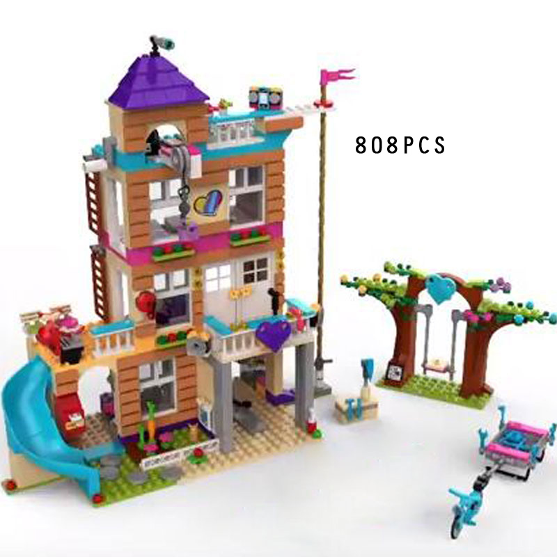 2018 my good friend Heart Lake City friendship house building block Ama Olivia Andrea figures bricks 41340 toys for girls gifts