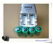 Новые 3 V CR2 зарядное устройство + 4 шт. .. 15270 CR2 800 mAh аккумуляторные батареи 3 V, цифровые камеры сделаны специальные батареи