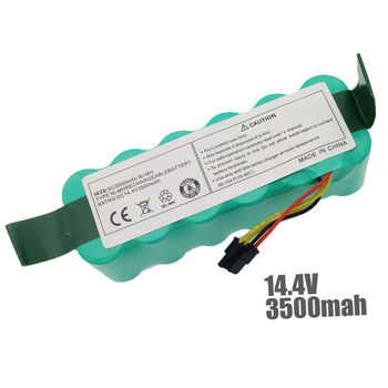 14.4V 3500 mAh Ni-MH Battery Pack for Ariete Briciola 2711 2712 2717 robotic Cleaner Vacuum cleaner parts